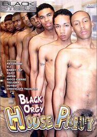 Black Orgy House Party Porn Movie