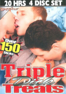Triple Dick Treats 4-Disc Set Porn Movie