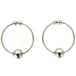 Nipple Rings - Silver Sex Toy