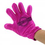 Fukuoku: 5 Finger Right Hand Massage Glove - Pink Sex Toy