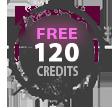 Free 120 Credits image