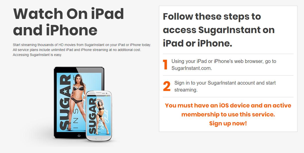 Sugar on iPad and iPhone