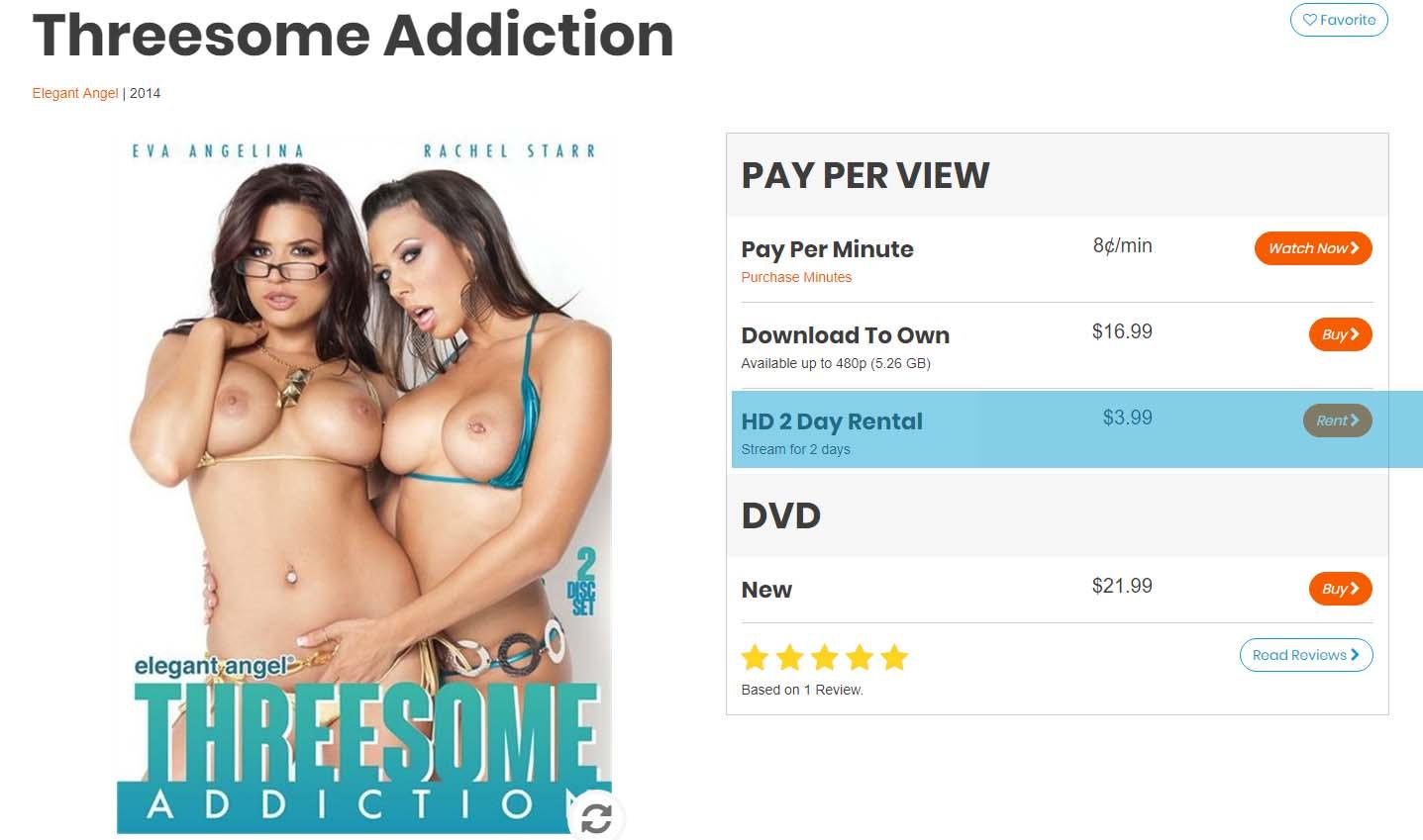 Threesome Addiction porn video