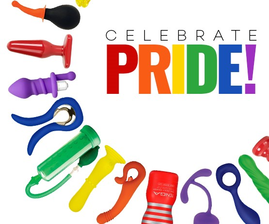 Celebrate Gay Pride in June.