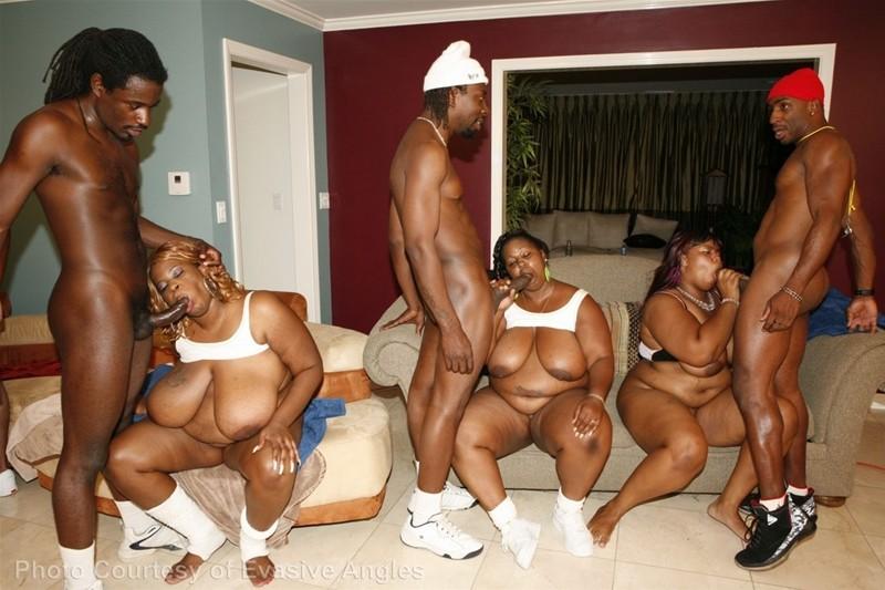 big um fat black freaks 7