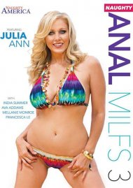 Naughty Anal MILFS Vol. 3 DVD Image from Naughty America.