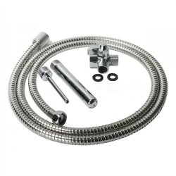 Cleanstream Deluxe Metal Shower System  image.