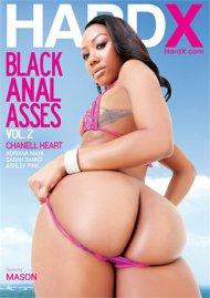 Black Anal Asses Vol. 2 DVD porn movie from HardX.
