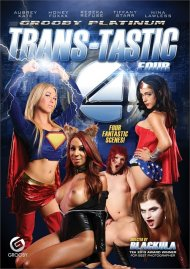 Trans-Tastic Four HD porn video from Grooby.