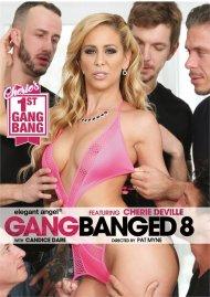 Gangbanged 8 DVD porn movie from Elegant Angel.