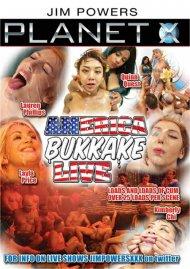 American Bukkake Live DVD porn movie from Planet X.