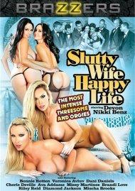 Slutty Wife Happy Life DVD Image from Brazzers.