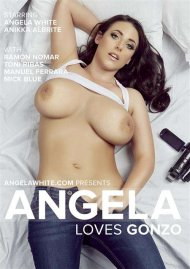 Angela Loves Gonzo DVD Image from AGW Entertainment.