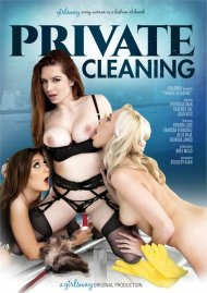 Private Cleaning HD porn video from Girlsway.
