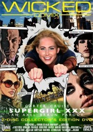 Supergirl XXX: An Axel Braun Parody DVD Image from Wicked Pictures.