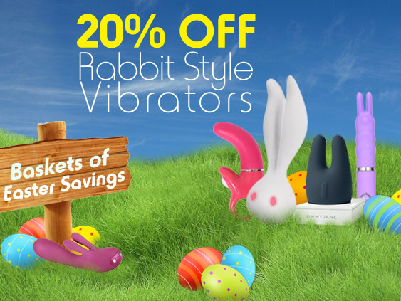 Shop rabbit style vibrators at a discount.