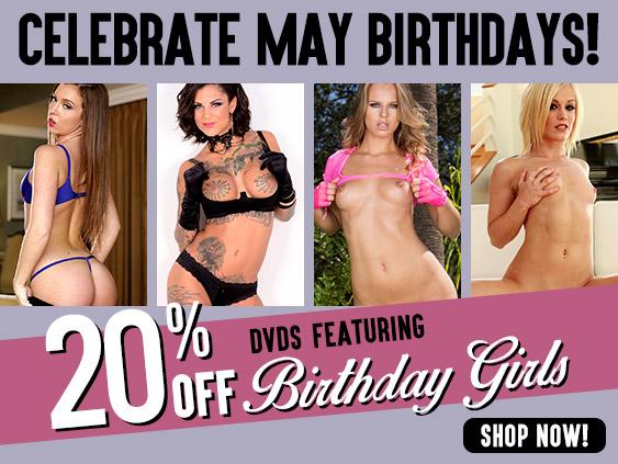 Shop the pornstar birthday sale.
