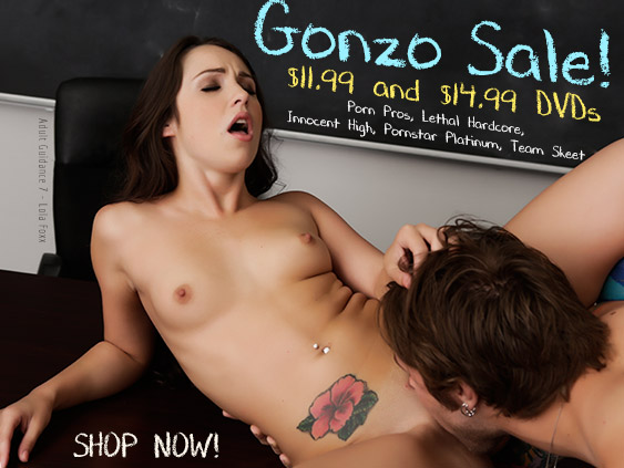 Buy Gonzo DVD porn movies at a discount.